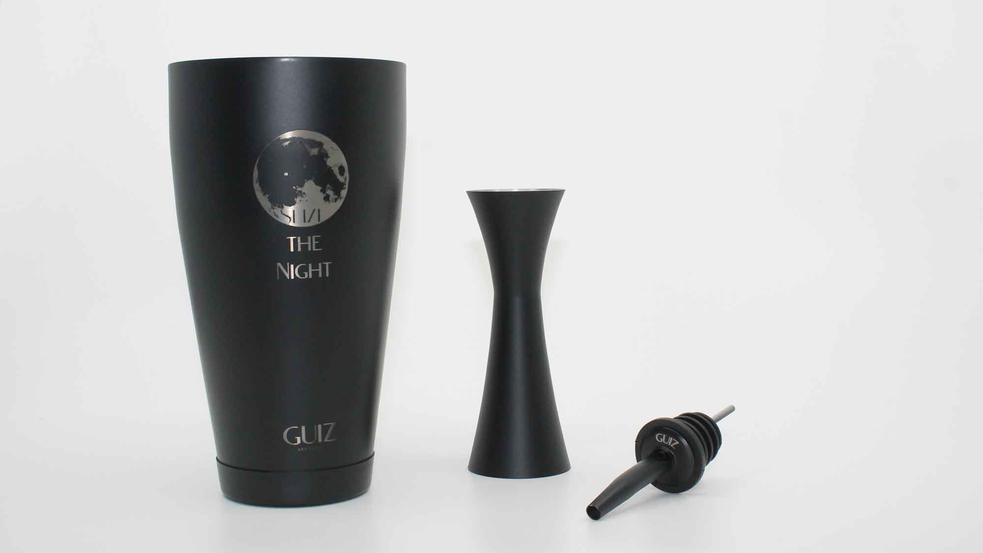 Boston Shaker Moon - Seize the Night and double Jigger 25/50ml